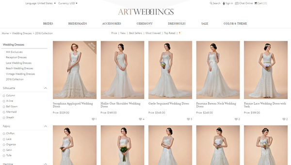 ArtWeddings Screenshot